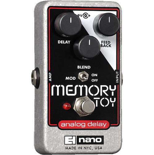 Electro-Harmonix Memory Toy Analog Delay With Modulation
