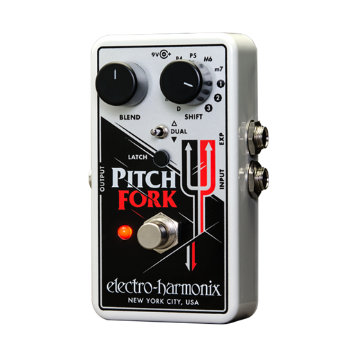 Electro-Harmonix Pitch Fork Polyphonic Pitch Shifter Effect Pedal