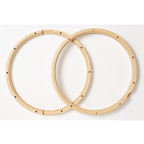 PDP 10 Lug Wood Hoops for Snare - Pair