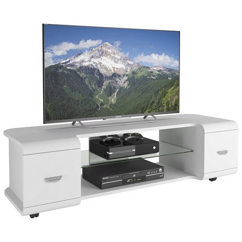 "CorLiving Panorama 65"" TV Stand - White"