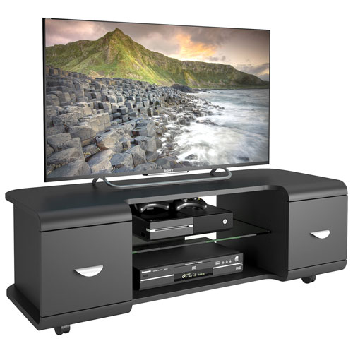 "CorLiving Panorama 57"" TV Stand - Black"