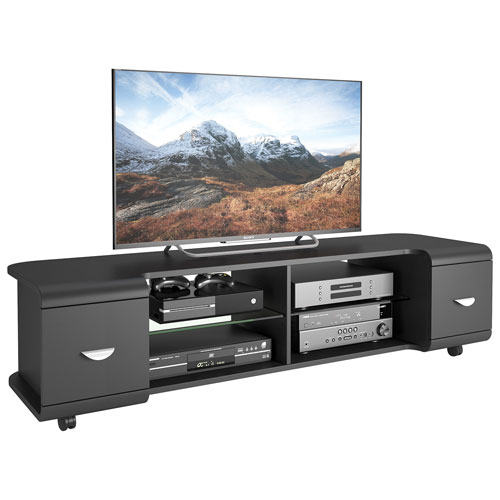 "CorLiving Panorama 73"" TV Stand - Black"