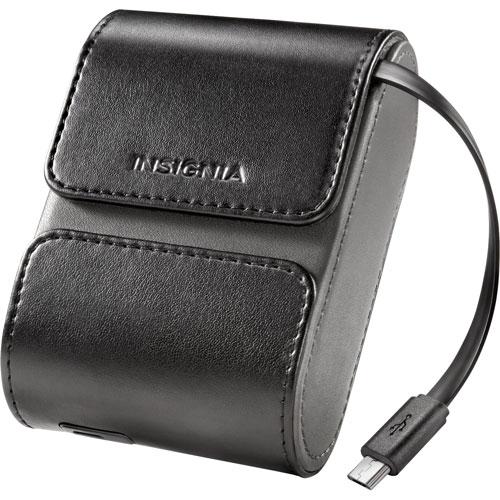 Étui de chargement 590 mAh Bluetooth d'Insignia pour écouteurs bouton (NS-CAHCC02-C) - Noir