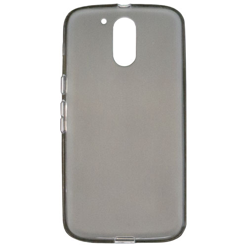 Affinity Gelskin Motorola G Plus Fitted Soft Shell Case - Smoke