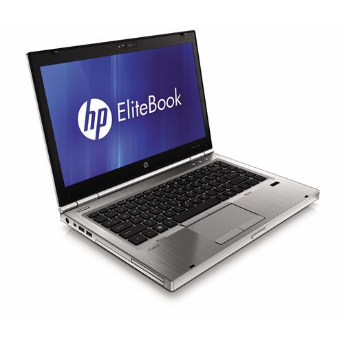 "HP EliteBook 8440p Intel i5 2400 MHz 250GB HDD 4GB DVD-RW 14"" LCD Win 10 Prof. 32 Bit Laptop - Platinum-Refurbished"