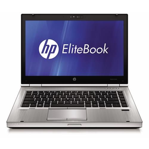"HP EliteBook 8460p Intel i5 2-core 2500MHz 750Gig HDD 4GB DVD ROM 14"" LCD Win 7 Pro 64 Bit Laptop - Silver-Refurbished"