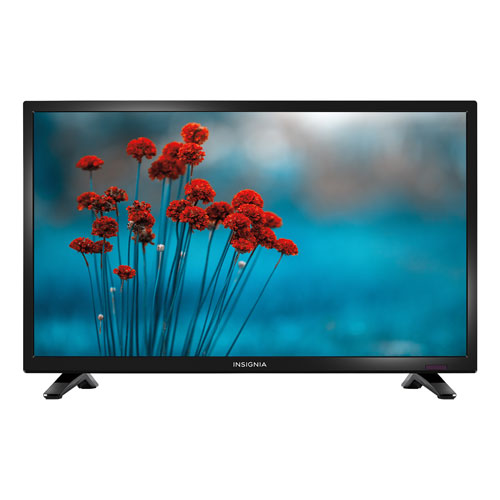 "Insignia 24"" 720p LED TV (NS-24D310NA17) - Black"