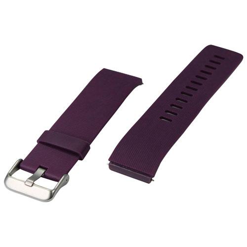 bracelet sport d 39 adreama pour blaze de fitbit grand violet accessoires pour montre. Black Bedroom Furniture Sets. Home Design Ideas