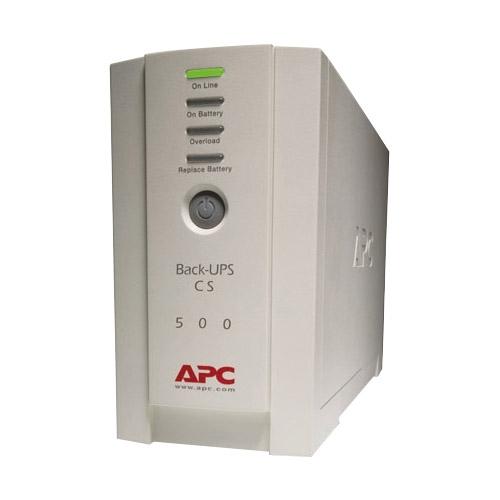 Back-UPS CS 500 - UPS - External - Standby - AC 120 V - 300 Watt / 500 VA - Inte