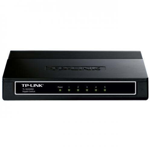 TP-LINK TL-SG1005D 10/100/1000Mbps 5-Port Gigabit Desktop Switch, 10Gbps Capacity