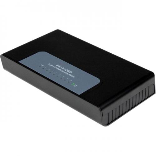 StarTech 8 Port Fast Ethernet Switch - 10/100 Desktop Wall Mount Network Switch