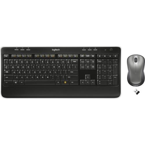 Logitech MK520 Wireless Keyboard and Mouse - Black