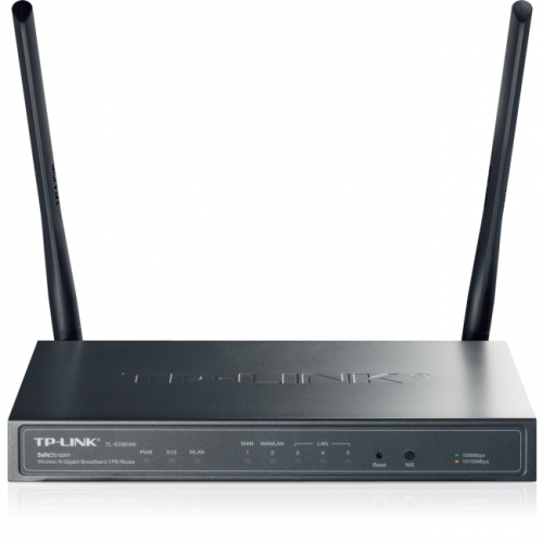 TP-LINK TL-ER604W SafeStream Wireless N300 Gigabit VPN Router with 1GB WAN port, 3 GB LAN Ports, 1GB WAN/LAN Port and