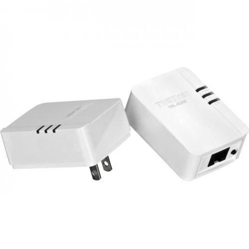 TRENDnet 500Mbps Compact Powerline AV Adapter Kit