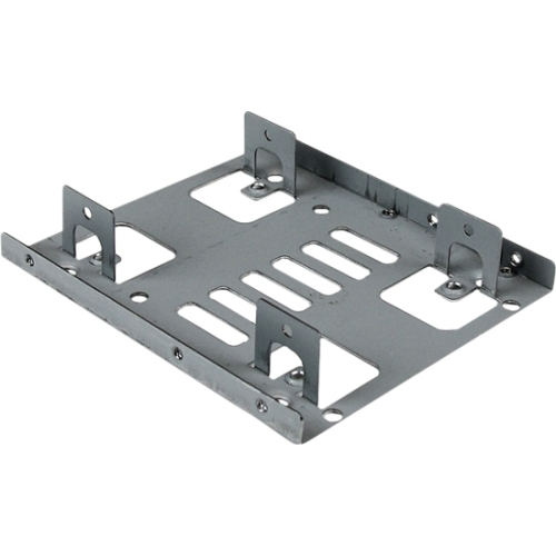 """StarTech Dual 2.5"""" to 3.5"""" HDD Bracket for SATA Hard Drives - 2 Drive 2.5"""" to 3.5"""" Bracket for Mounting Bay"""