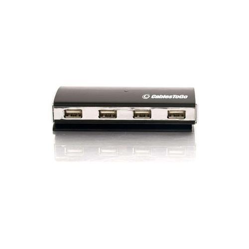 C2G 4-Port USB 2.0 Aluminum Hub