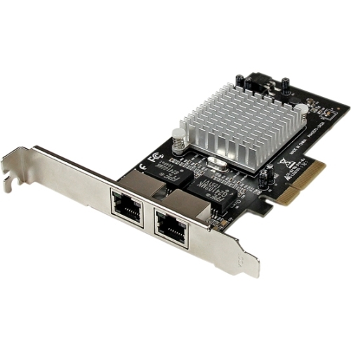 StarTech Dual Port PCI Express (PCIe x4) Gigabit Ethernet Server Adapter Network Card - Intel i350 NIC