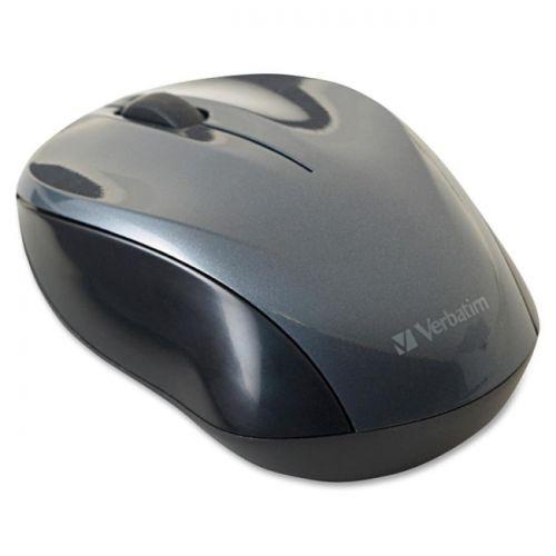 Verbatim Wireless Nano Notebook Optical Mouse - Graphite