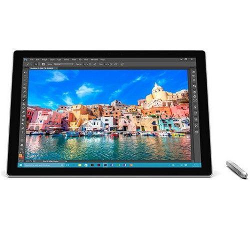 """Microsoft Surface Pro 4 Tablet PC - 12.3"""" - PixelSense - Wireless LAN - Intel Core i7 i7-6600U Dual-core (2 Core) 2.60 GHz -"""