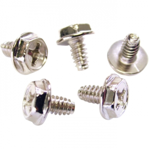 StarTech Replacement PC Mounting Screws #6-32 x 1/4in Long Standoff - 50 Pack