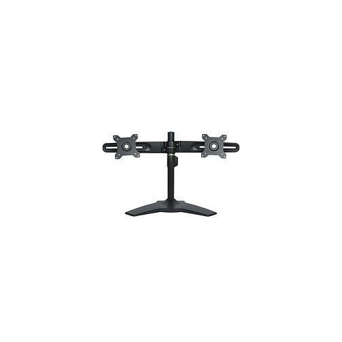 DUAL MONITOR STAND BLACK