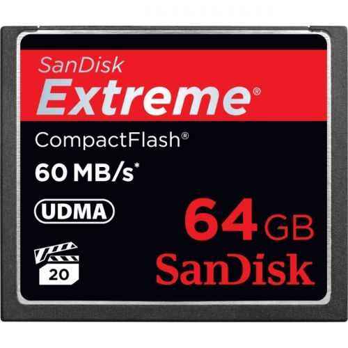 SanDisk Extreme 64GB CompactFlash (CF) Card
