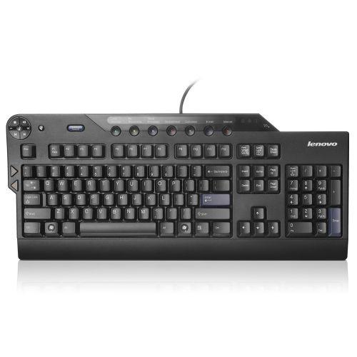 Lenovo Enhanced USB Wired Keyboard - Black