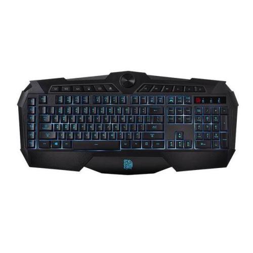 Thermaltake CHALLENGER PRIME USB Wired Gaming Keyboard - Black