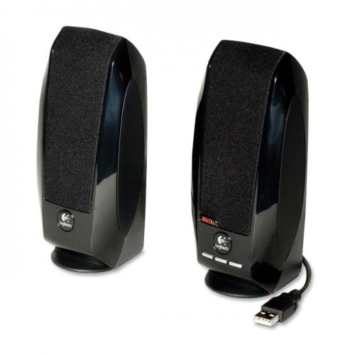 LOGITECH S-150 USB SPEAKERS - BLACK