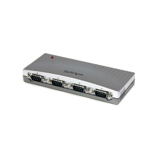 StarTech 4 Port USB to RS232 Serial DB9 Adapter Hub