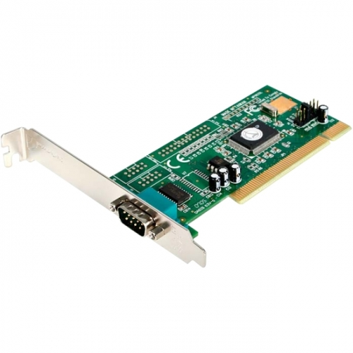 StarTech 1 Port PCI RS232 Serial Adapter Card with 16550 UART