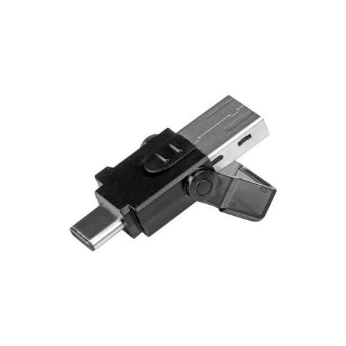 StarTech microSD to USB 3.0 Card Reader Adapter - for USB-C and USB-A Enabled Computers