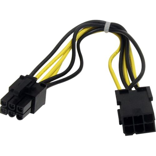 StarTech 8in 6 pin PCI Express Power Extension Cable