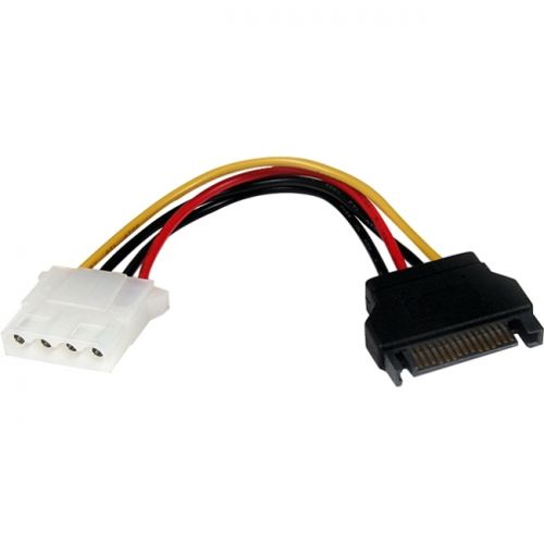 StarTech 6in SATA to LP4 Power Cable Adapter - F/M