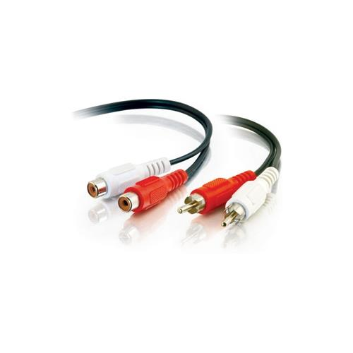 C2G 3ft Value Series RCA Stereo Audio Cable