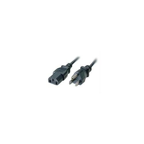 C2G 3ft 18 AWG Universal Power Cord (NEMA 5-15P to IEC320C13)