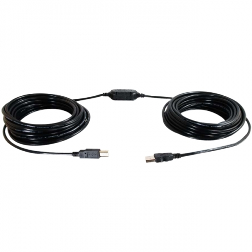 C2G 25ft USB A Male to Female Active Extension Cable (Center Booster Format)