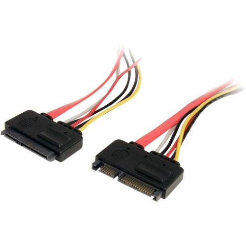 StarTech 12in 22 Pin SATA Power and Data Extension Cable
