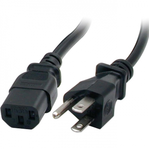 StarTech 20 ft Standard Computer Power Cord - NEMA5-15P to C13
