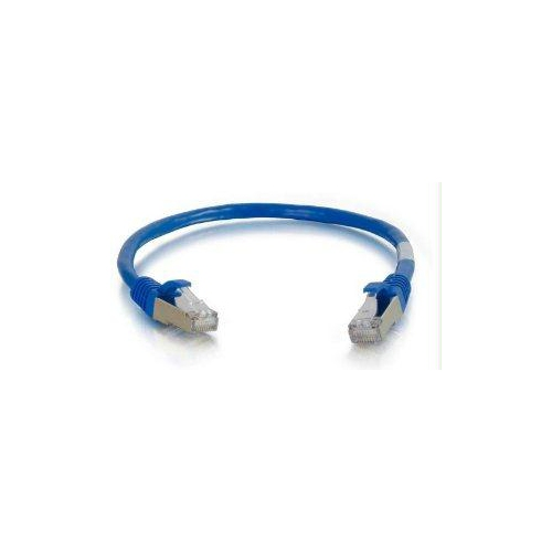 Network Patch Cable Blue C2g 12ft Cat6a Snagless Shielded Stp