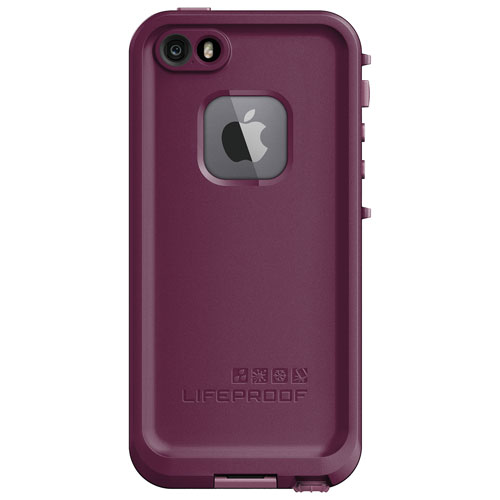 LifeProof FRE iPhone 5/5s/5e Fitted Hard Shell Case - Purple