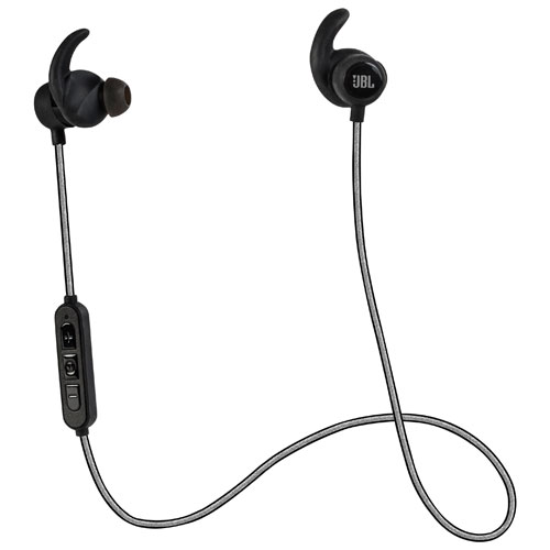 JBL Reflect Mini BT In-Ear Sport Bluetooth Headphones (JBLREFLECTMINIBTBLK) - Black