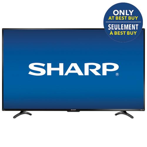 Téléviseur intelligent Roku DEL 1080p de 55 po de Sharp (LC-55LB481C)