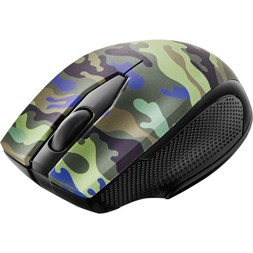 Modal Wireless Optical Mouse - Camouflage