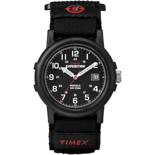 Montre sport analogique 38 mm Expedition de Timex - Noir