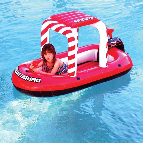 Bateau gonflable pour piscine Rescue Squad de Blue Wave Sports