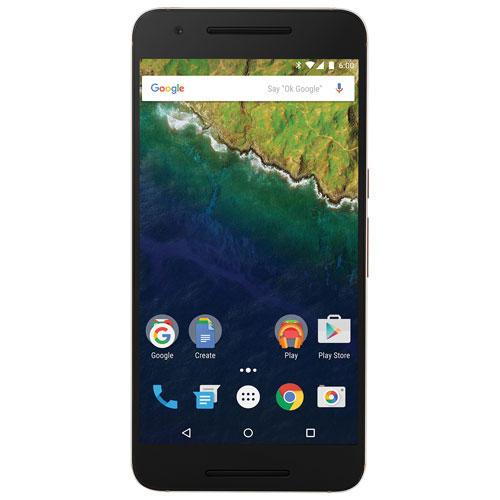 Fido Google Nexus 6P 32GB Smartphone - Gold - 2 Year Agreement