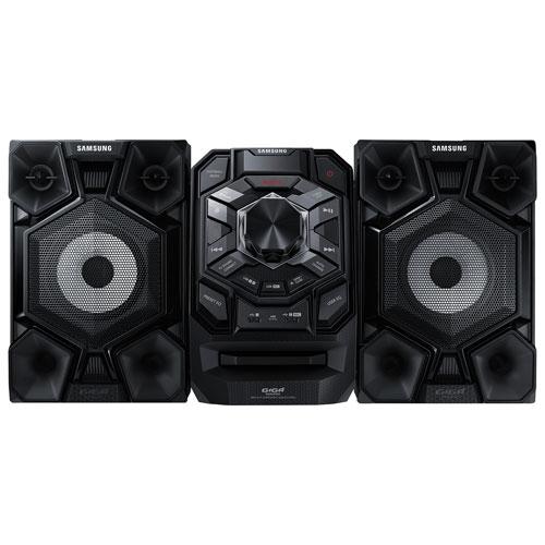 Chaîne audio Bluetooth Giga de Samsung (MX-J630) - Noir