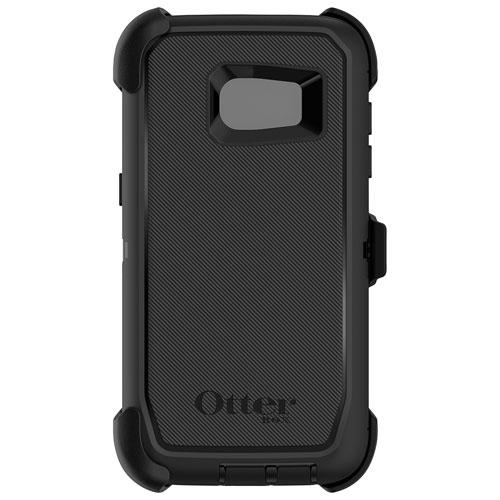 Étui rigide ajusté Defender d'OtterBox pour Galaxy S7 edge de Samsung - Noir