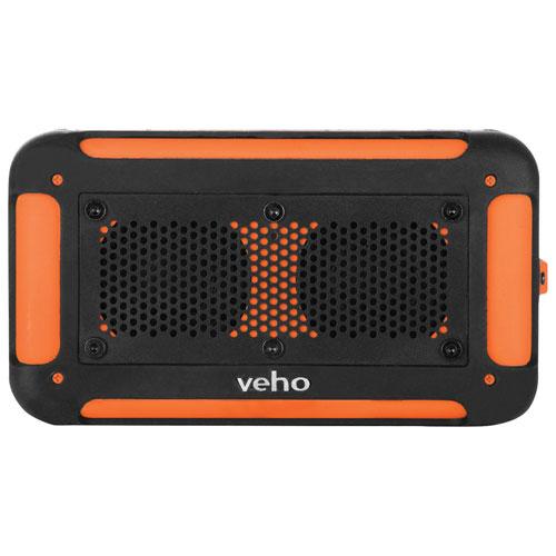Veho 360 Degree Vecto Wireless Water Resistant Speaker (VXS-002-ORG) - Black/Orange